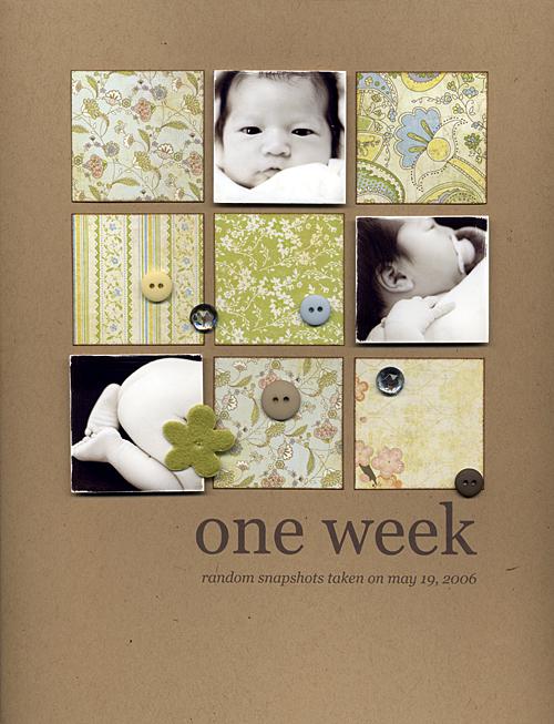 Oneweek-layout